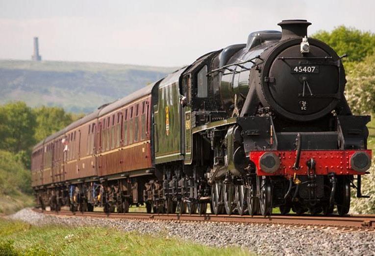 Steam engine (train)