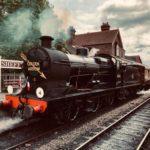 Train (steam engine on tracks)